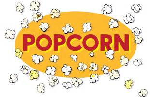 Popcorn Words Clip Art