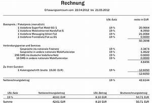 Www Mein Vodafone Rechnung De : tarifwechsel rechnung h her als am telefon gesag ~ Themetempest.com Abrechnung