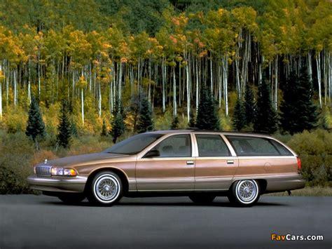 Chevrolet Caprice Station Wagon 1991–96 photos (640x480)