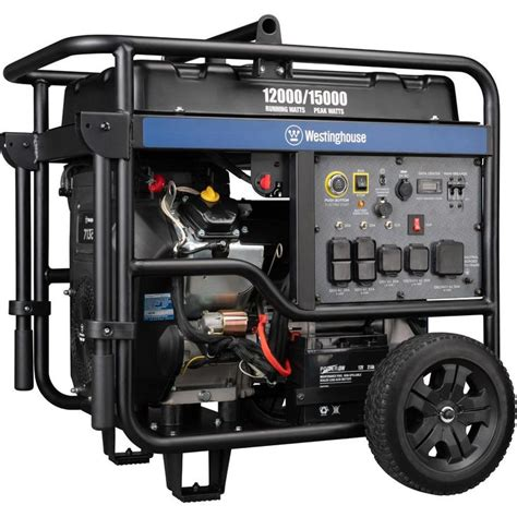 A best 12000 watt dual fuel generators can be operated when either of its fuel is not readily available. Westinghouse WGen12000 15,000/12,000 Watt Gas Powered ...
