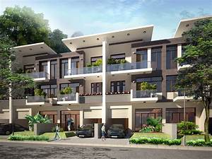 3d Models Contemporary Multi Story House 3d Model Max