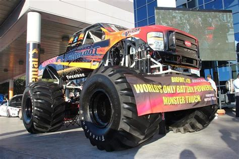 bigfoot electric monster truck 121 best images about trucks monster trucks on pinterest