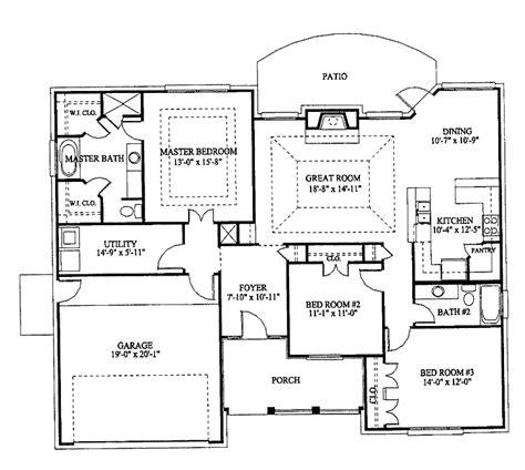 bedroom bungalow house plans beautiful  bedroom bungalow designs  hall kitchen bedroom
