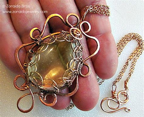 Wire Wrapped Pendants — Jewelry Making Journal