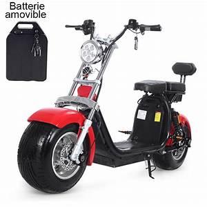 Faire Carte Grise Scooter : scooter lectrique rouge batterie amovible avec carte grise fr azur scooter ~ Medecine-chirurgie-esthetiques.com Avis de Voitures