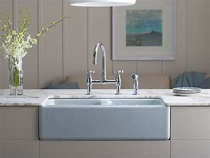 K 6534 4U Hawthorne Apron Front Under Mount Kitchen Sink