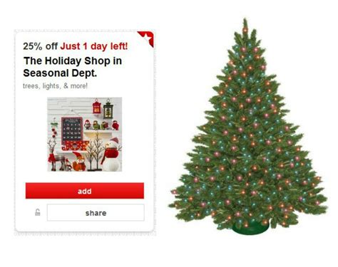 target christmas trees decor coupons