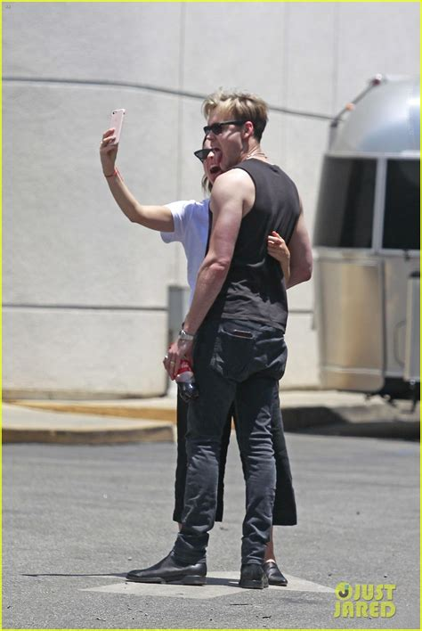 emma watson chord overstreet snap selfies  kissing