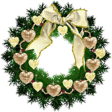 christmas wreath animated christmas 2008 christmas