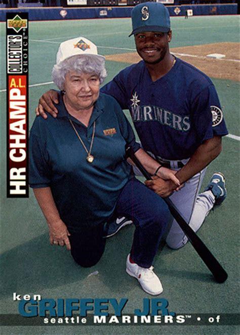 Deck Ken Griffey Jr 1995 by 1992 Topps Nolan 1 Hof 85 Rangers Baseball