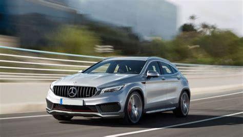 2019 Mercedesbenz Gla 现身!挑高版的 A Class ! Automachicom
