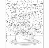 Dessert Coloring Pack Printables sketch template
