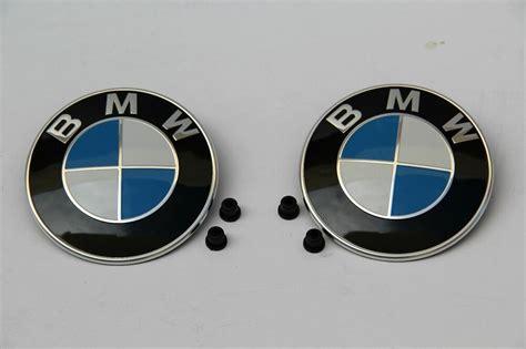 original bmw emblem logo genuine oem badge hood