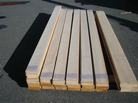 1x6 Tongue And Groove Roof Decking by Creek Lumber Port Orford Cedar Paneling And