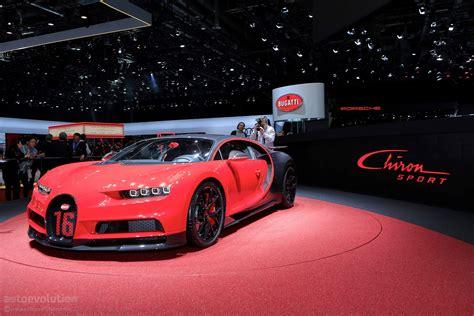 2019 Bugatti Chiron Sport Arrives In Geneva Sporting 500
