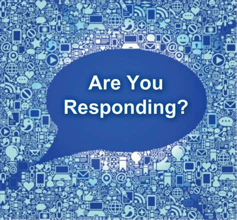 Responding  The Missing Link Of Social Media