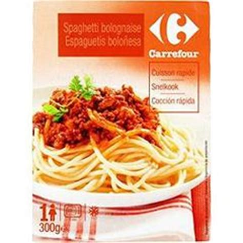 plats cuisin駸 carrefour plat cuisiné plat minut 39 spaghetti bolognaise carrefour tous les produits plats