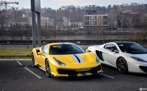 2020 ferrari 488 pista in yellow!!!exterior: Ferrari 488 Pista Spider Jaune - All About Car