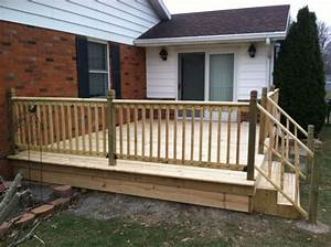 12x16 Deck Completed In 3 Days  Contact For More Information