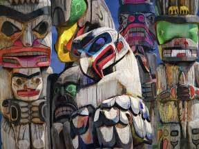 Pacific Northwest Totem Pole Art