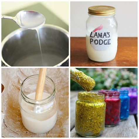 List Of Homemade Art Supply Recipes  Crafty Morning