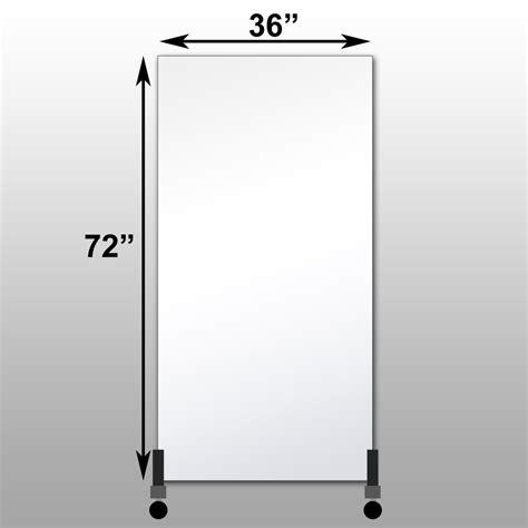 floor mirror 36 x 72 mirrorlite 174 vertical free standing glassless mirror 36 quot x 72 quot x 1 25 quot free standing glassless