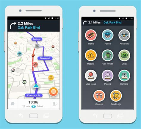 waze for android waze 4 0 for android is here and renewed application