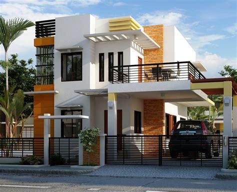 desain rumah tingkat sederhana minimalis