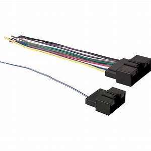 Metra 70-5524 Receiver Wire Harness For Select 2011 - Up Ford Fiesta Vehicles