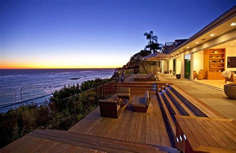 waterfront vacation home plans oceanfront luxury home sale malibu