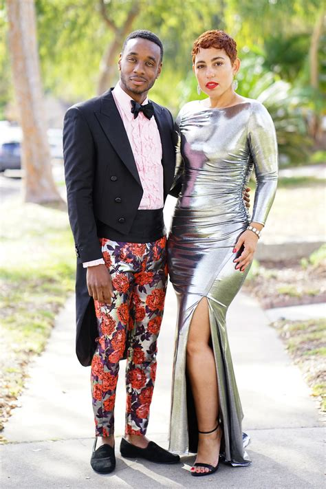 diy metallic formal dress vogue  mimi  style