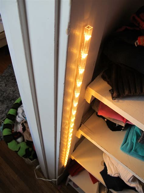 led closet light a 15 closet lighting solution merrypad