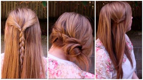 easy spring braided hairstyles youtube