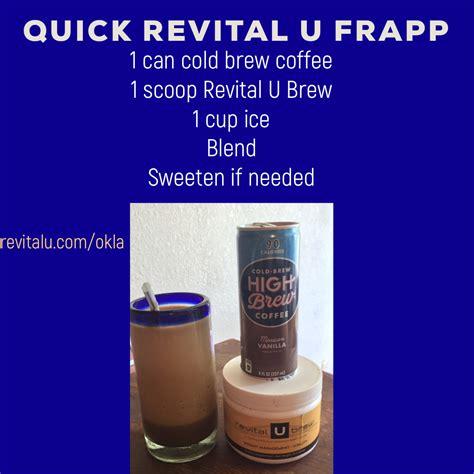 Revital u smart coffee non consultant review. Revital U!   Coffee brewing, Vanilla coffee