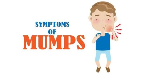 Mumps Symptoms and Signs