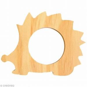 Rond En Bois : rond de serviette bois peindre h risson ustensile cuisine creavea ~ Teatrodelosmanantiales.com Idées de Décoration