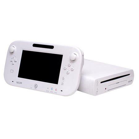 wii u white console refurbished nintendo wii u console 8gb basic set white