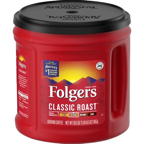 Folgers coffee is not bad it is just mediocre. Folgers Coffee Nutrition Facts Caffeine | Besto Blog