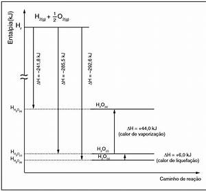 Thermodynamics - What Is The Meaning Of The Double Tilde In The Enthalpy Diagram