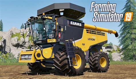Fs19 Claas Lexion 780 Us Harvester V10 Farming