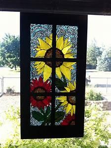 Pollyanna, Reinvents, Colored, Glass, Mosaics