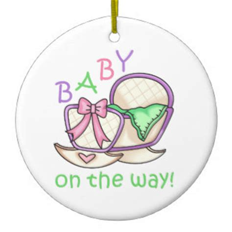 baby on the way ornaments keepsake ornaments zazzle