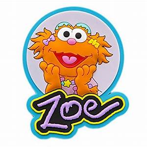 Sesame Place Zoe Silicone Magnet : Magnets