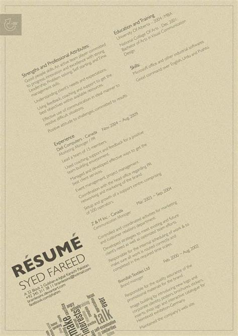a collection of clean resume designs for inspiration