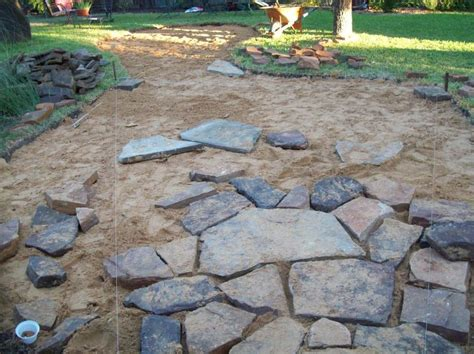 installing a flagstone patio outdoor living patios