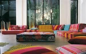 orientalisches wohnzimmer einrichtungsbeispiele fürs wohnzimmer