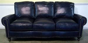 dark blue leather sofa home furniture design With blue leather sofa