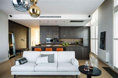 salon et cuisine cuisine salon 40m2 cuisine en image