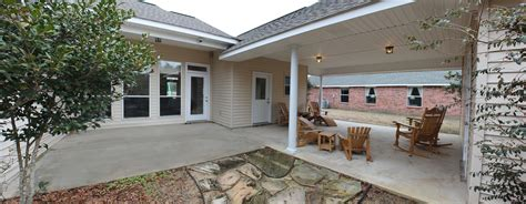 crawfish boil patio carport cretinhomescom clayton homes house floor plans