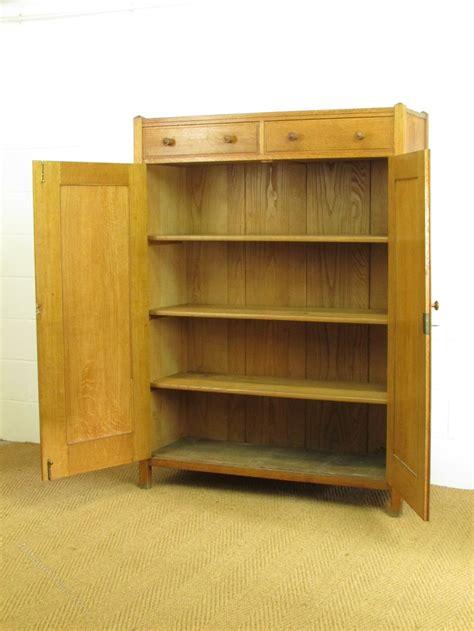 substantial heals oak linen press cupboard antiques atlas